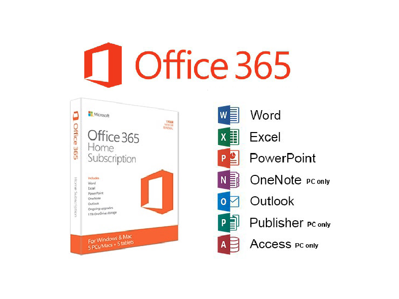 Laptops & Tablets :: Software :: Microsoft Office 365 Home - #1 ...